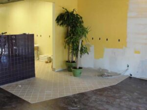 Titus Contracting woks on Eagan MN Tropical Smoothie build-out