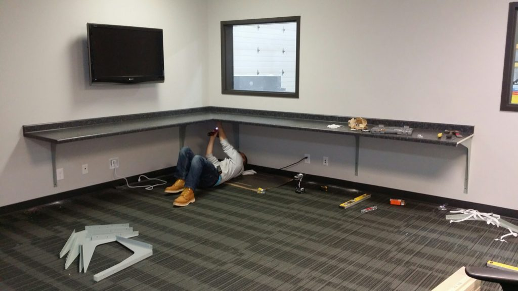 Titus contracting commercial renovations for dish network Brooklyn Center MN